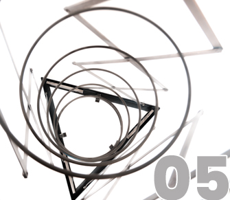 pantografo per vaso di filatura